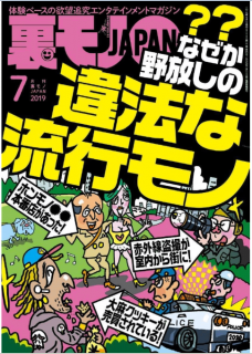 Ura Mono JAPAN 2019-07 (裏モノJAPAN 2019年07月号)