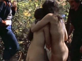 violence in the film - The Last House on the Left 1972.