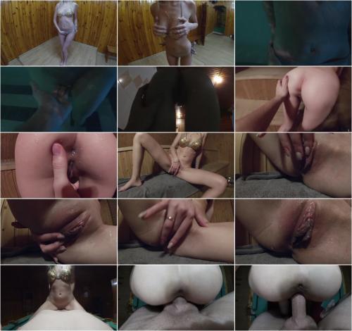 Markkora  Fuck Blonde Stepsister In Steam Room [FullHD 1080P]