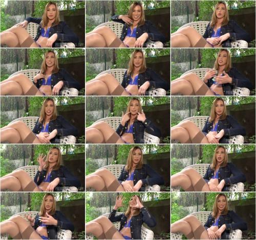 Monika Wild Interview Before Bukkake [FullHD 1080P]