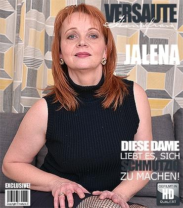 Mature - Jalena M. (41) - Geile Hausfrau fingert sich selbst