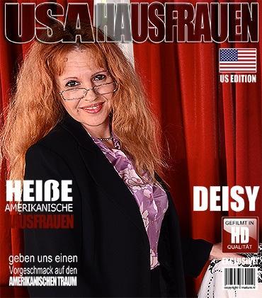 Mature - Deisy (45) - Amerikanisch Hausfrau fingert sich selbst