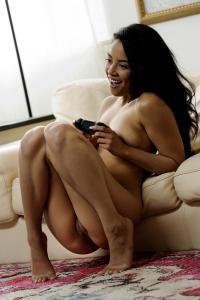 Maya Bijou – Gamer Girl Nude MetArt