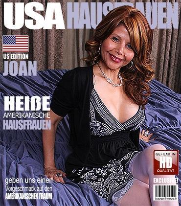 Mature - Joan (50) - Amerikanisch Hausfrau fummelt herum