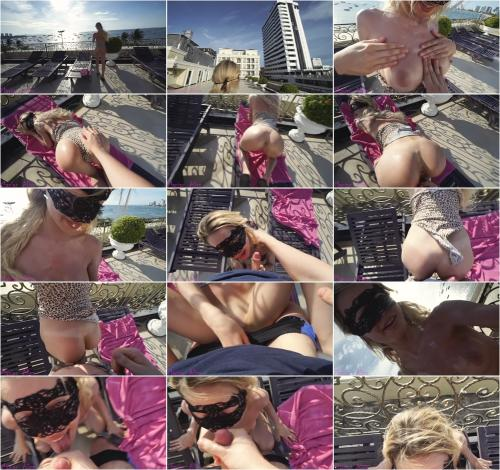 Maniac_Alisa - Hot teen from Tinder suck and fuck me on the roof [FullHD 1080P]