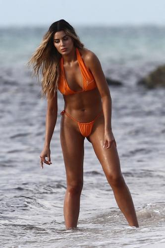 Ariadna Gutierrez topless Miami beachside photshooot