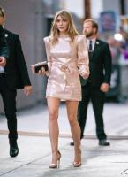Elizabeth Olsen | Outside Jimmy Kimmel Live Studios in LA | October 1 | 29 pics