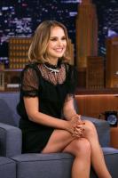 Natalie Portman @ The Tonight Show starring Jimmy Fallon | October 2 | 4 pics