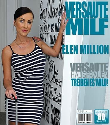 Mature - Elen Million (38) - Heiße MILF fingert sich selbst