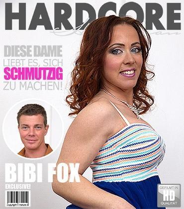 Mature - Bibi Fox (36) - Geile mama fickt und saugt
