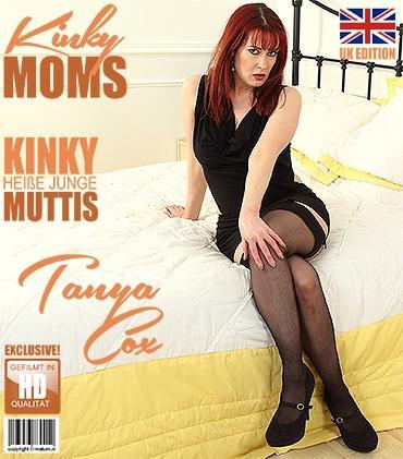 Mature - Tanya Cox (EU) (37) - Britische mama Tanya Cox spielt mit sich selbst