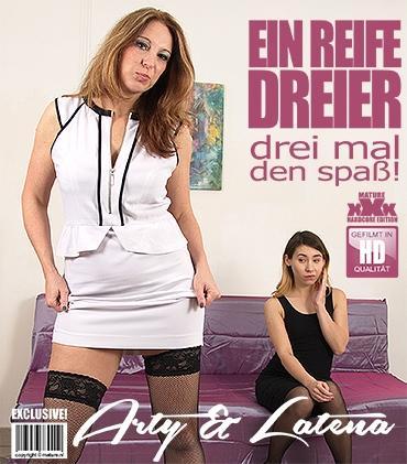 Mature - Arty (39), Latena (21) - Geile junge und alte Dame hat einen Dreier  Mature.nl