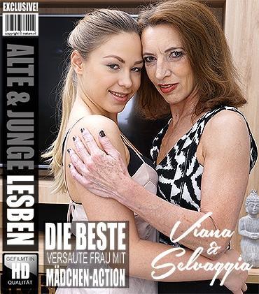 Mature - Selvaggia (19), Viana (56) - Heißes Babe hat Spaß einer frechen reifen Lesbe