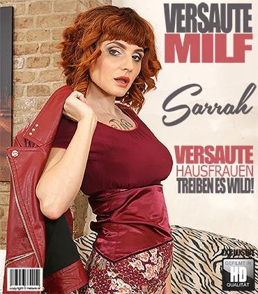 Mature - Sarrah (36) - Heiße MILF Sarrah spielt mit sich selbst  Mature.nl