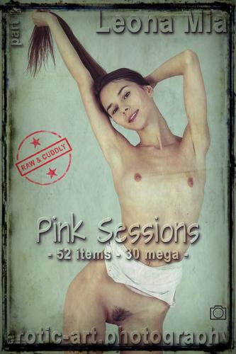 Leona Mia Leona Pink Sessions part 1 52 pics