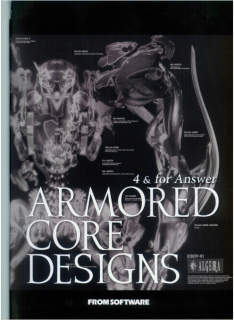 Armored Core Designs – 4 & For Answer