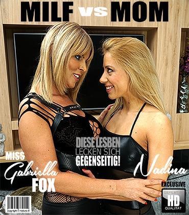 Mature - Miss Gabrielle Fox (EU) (53), Nadina (31) - Heiße MILF hat Sex mit einer heißen Mutti  Mature.nl