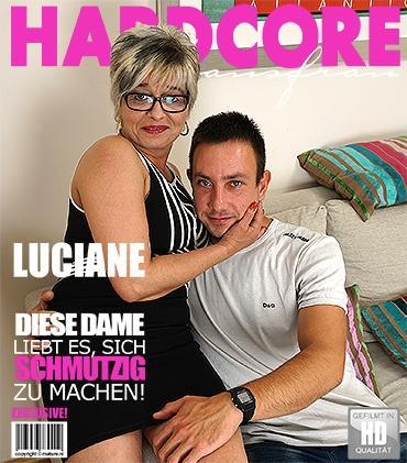 Mature - Luciane (46) - Halte deine Augen für diese freche Hausfrau offen, die es liebt, Hardcore-Sex mit ihrem Liebhaber zu haben!