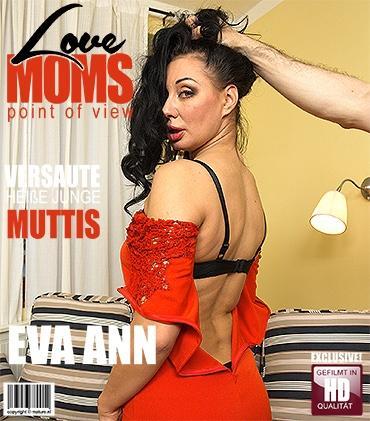 Mature - Eva Ann (39) - Freche mama fickt in POV Style