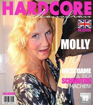 Mature - Molly Maracas (EU) (52) - Britische Hausfrau fickt und saugt