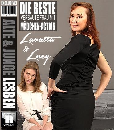 Mature - Lavatta (22), Lucy (44) - Heißes Babe hat Spaß einer frechen reifen Lesbe
