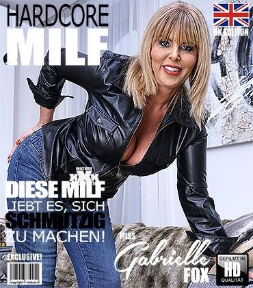 Mature - Miss Gabrielle Fox (EU) (53) - Britische MILF Miss Gabrielle Fox hat Sex mit einem schmutziger alter Mann  Mature.nl