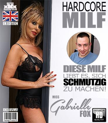 Mature - Miss Gabrielle Fox (EU) (53) - Britische MILF Miss Gabrielle Fox fickt und saugt  Mature.nl