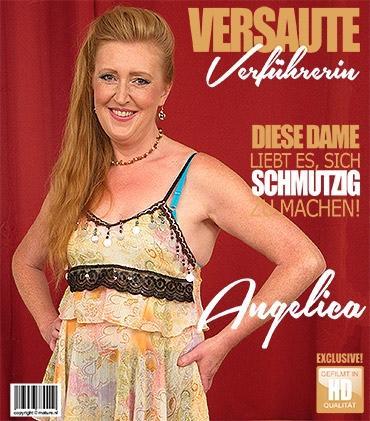 Mature - Angelica (46) - Geile Hausfrau Angelica spielt mit sich selbst  Mature.nl