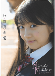 [Artbook] Maria Makino 牧野真莉愛 Greeting Mini-Photobook