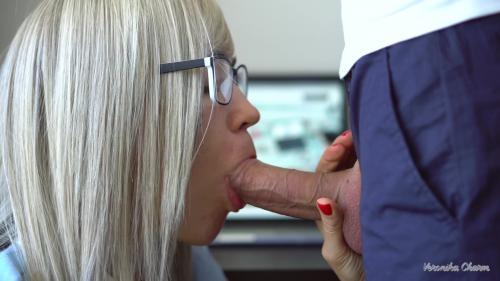 Veronika Charm - Sexy Secretary makes Amazing and Sensual Blowjob to her Boss Again [UltraHD/4K 2160P]