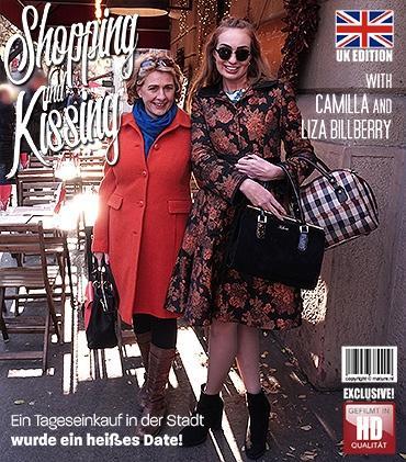 Mature - Camilla C. (EU) (45), Liza Billberry (25) - 2 alte und junge Lesben spielen miteinander