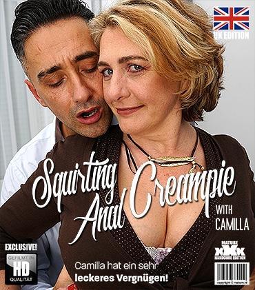 Mature - Camilla C. (EU) (45) - Camilla hat ein Date mit Anal, Squirting und Creampie!