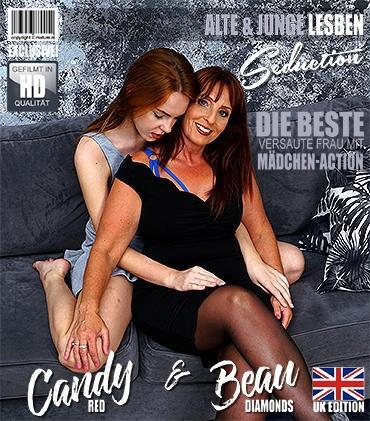 Mature - Beau Diamonds (EU) (49), Candy Red (19) - Halte deine Augen für diese alten und jungen Lesben offen, die es lieben, ihre Muschis zu schmecken!