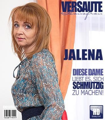 Mature - Jalena M. (41) - Geile Hausfrau spielt mit sich selbst