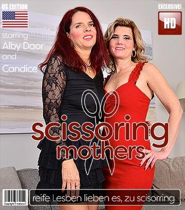 Mature - Alby Daor (49), Candice (50) - Alby and Candice are two pussy licking mature ladies that love scissoring