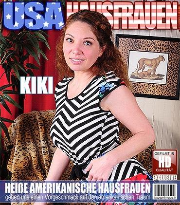Mature - Kiki Daire (38) - Amerikanisch Heiße Hausfrau fummelt herum