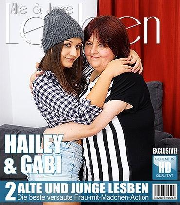 Mature - Gabi K. (40), Hailey (18) - Pummelige reife Dame hat Sex mit einer heißen jungen Babe