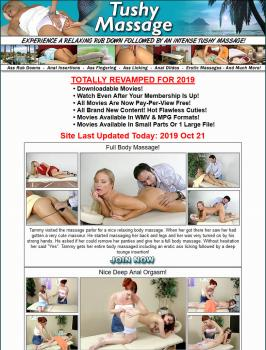 TushyMassage (SiteRip) Image Cover