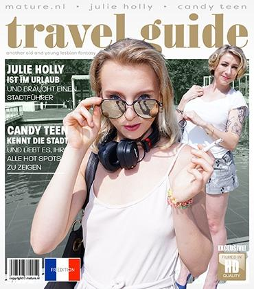 Mature - Candy Teen (24), Julie Holly (EU) (35) - Naughty French Julie Holly is on vacationa and needs a travel guide. She meets Candy Teen who loves to show her all the hot spots... even her own!