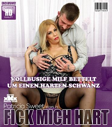 Mature - Patricia Sweet (38) - Big breasted Milf Patricia Sweet is begging for a hard throbbing cock, that fucks her hard and long.