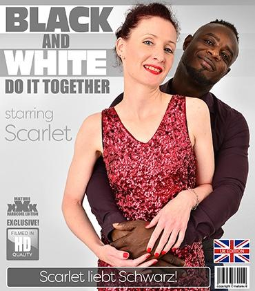 Mature - Scarlet (EU) (44) - British Scarlet loves her men younger then she is, but when the man is black, she goes all the way and beyond.