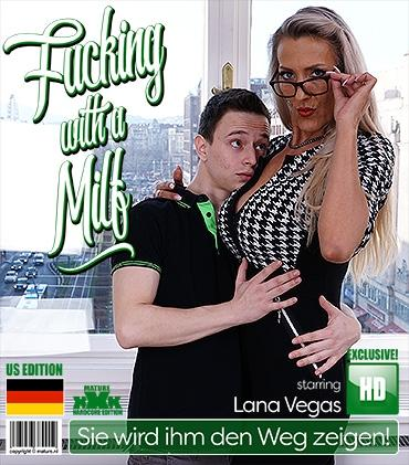 Mature - Lana Vegas (EU) (43) - Naughty big breasted MILF Lana Vegas seduces an innocent toy boy for hot steamy sex