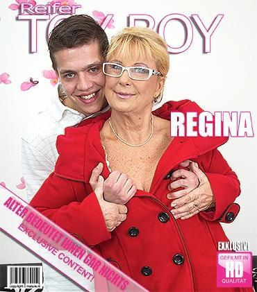 Mature - Regina T. (63) - Ältere Schlampe bekommt ihren Mund voll