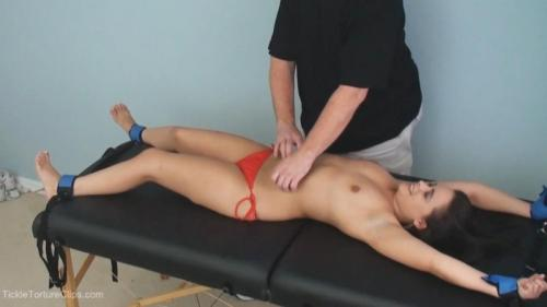 Tickling Tiny Michelle's Upperbody. SilverCherry (71 Mb)