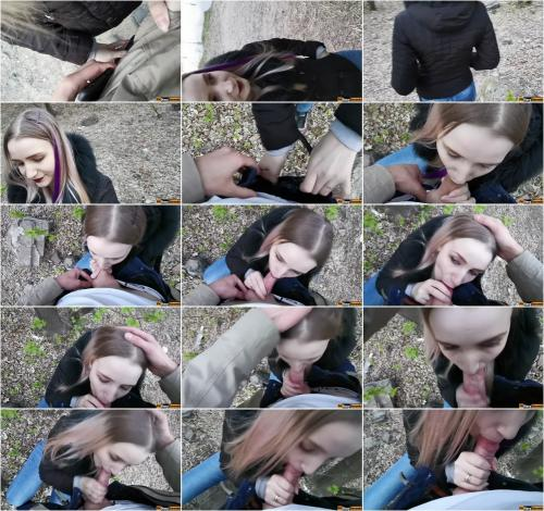 Stacy Starando - Random Blowjob To My Stepbrother Dick In Real Public Area [FullHD 1080P]