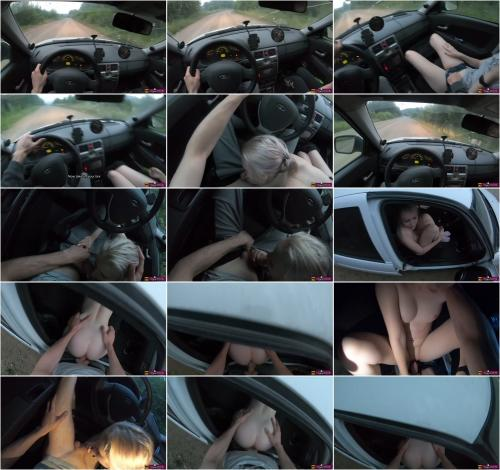 Stacy Starando - Young Girl Hitchhiker Fucks A Stranger for A Free Ride [FullHD 1080P]
