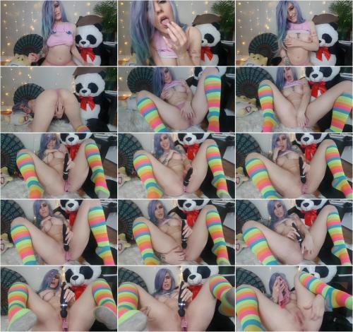 Lara Loxley - Little Pink Panty Stuffing [FullHD 1080P]